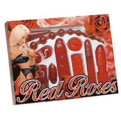 Sada RED ROSES 9-ti dílná