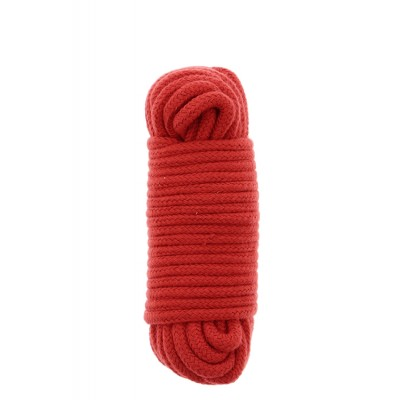 Lano na bondáž BONDX LOVE ROPE 10m red