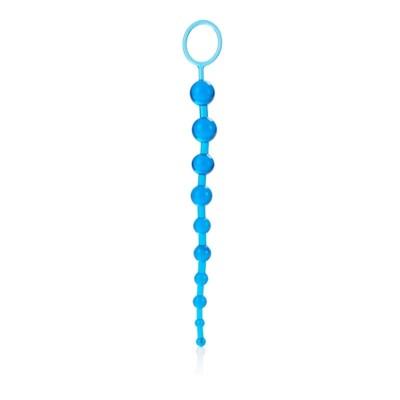 Korále anální X10 BEADS blue