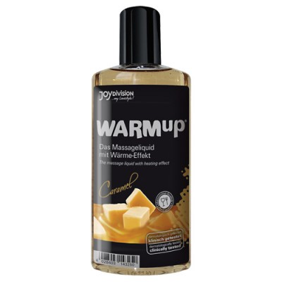 Tělový olej WARMup Karamel 150 ml