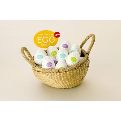 Pánský masturbátor vajíčko Tenga Egg Mix - uvnitř bílá, obal různé