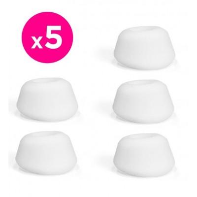Satisfyer Pro 2 -  náhradní silikonové hlavice - bílá