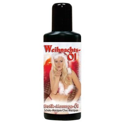 Tělový olej VÁNOČNÍ ČOKO - MARCIPÁN 50 ml