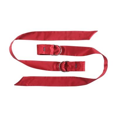 Boa - hedvábné stuhy - červená