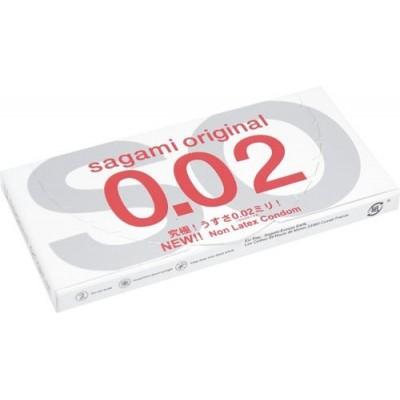 Kondomy Sagami Original 0,02 mm - Průhledný