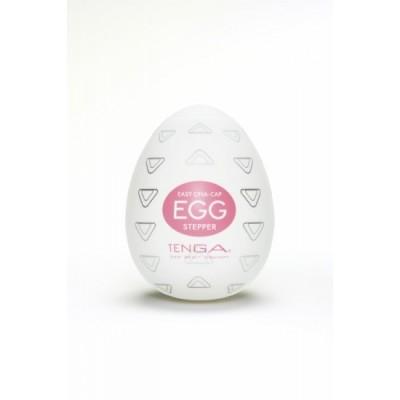 Pánský masturbátor vajíčko Tenga Egg Stepper - uvnitř bílá, obal růžová