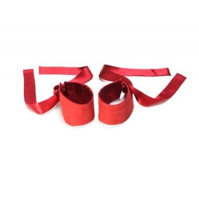 Etherea - hedvábná pouta - červená