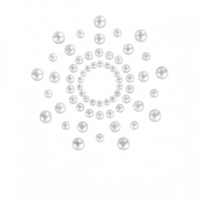 Bijoux Indiscrets Mimi Pearl - ozdoby na bradavky - perleťová