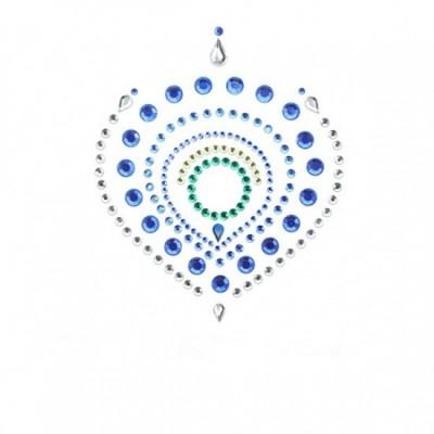 Bijoux Indiscrets Flamboyan - ozdoby na bradavky - modrá/zelená