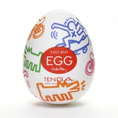 Pánský masturbátor vajíčko Tenga Egg Street - uvnitř čirá, obal barevný