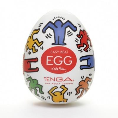 Pánský masturbátor vajíčko Tenga Egg Dance - uvnitř čirá, obal barevný