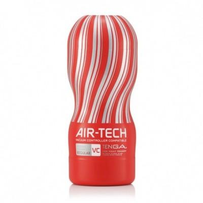 Pánský masturbátor Tenga Air-Tech Regular Vacuum Controlled - obal červený/ čirý