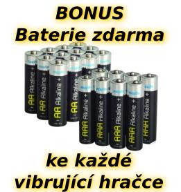 Baterie zdarma