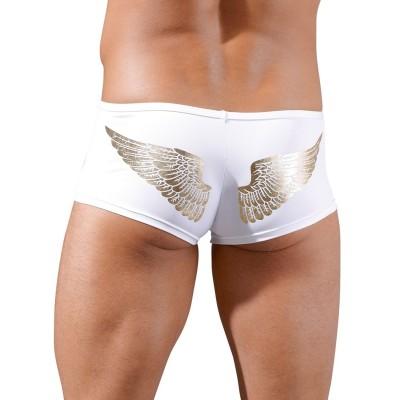 Boxerky pánské ANGEL bílé