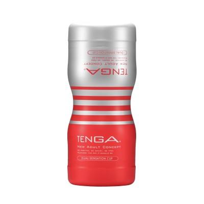 Honítko Tenga Dual Sensation Cup - červená