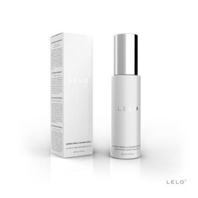 Antibakteriální čisticí sprej LELO 60 ml - čirá, flakonek bílá