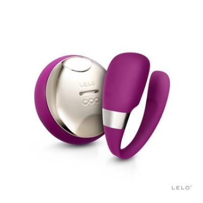 Tiani 3 - luxusní vibrátor na dálkové ovládání z kolekce Lelo - fialová