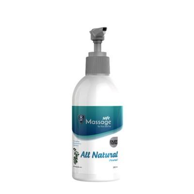 Masážní olej SAFE All Natural 200 ml