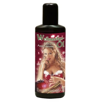 Tělový olej VÁNOČNÍ SKOŘICE - JABLKO 50 ml