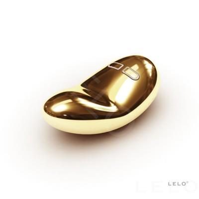 Yva - luxusní vibrátor Lelo - ohnivě zlatá