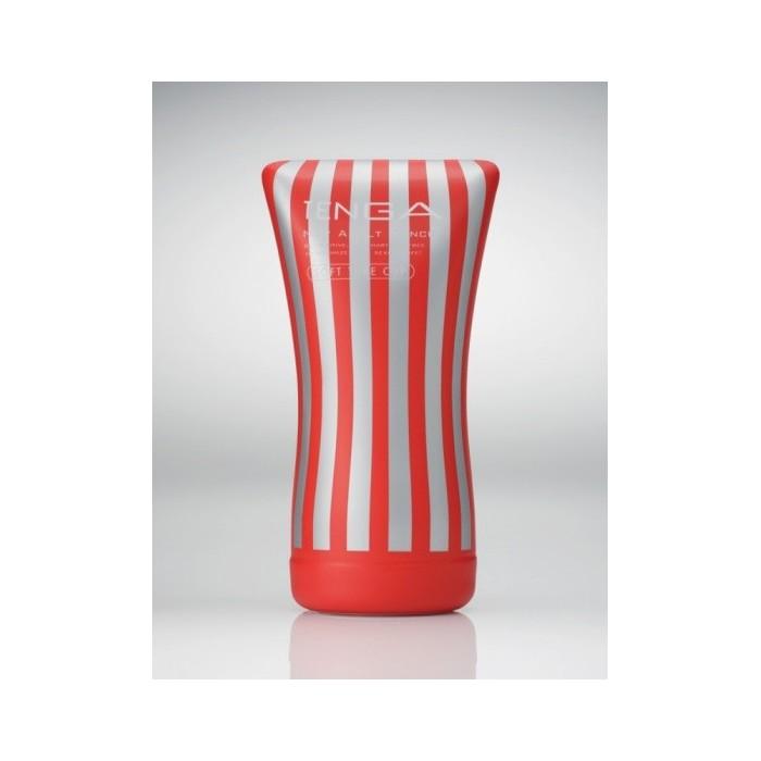 Pánský masturbátor Tenga Soft Tube CUP - červená