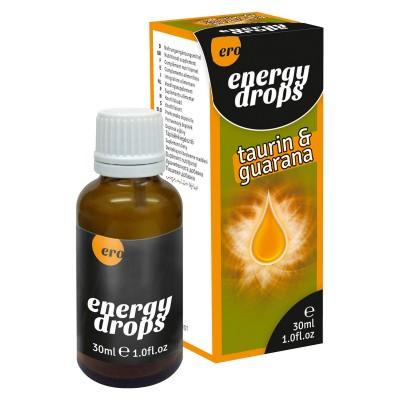 Kapky ERO ENERGY DROPS TAURIN GUARANA 30 ml