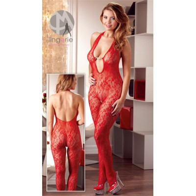 Catsuit PERLE red