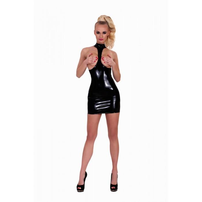 Šaty COLLARED EXPOSURE DATEX černé XL
