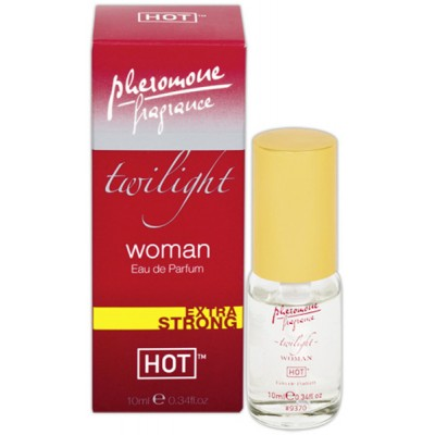 HOT TWILIGHT WOMAN Mini parfém s feromony 10 ml