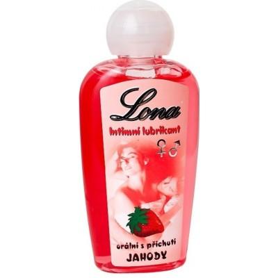 Lubrikační gel LONA JAHODA 130 ml