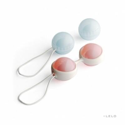 Luna - luxusní venušiny kuličky Lelo - růžová / modrá
