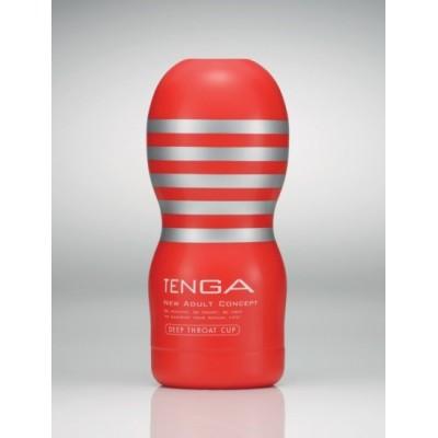 Honítko Tenga Deep Throat CUP - červená