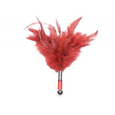 Tantra - dráždící peříčka - červená