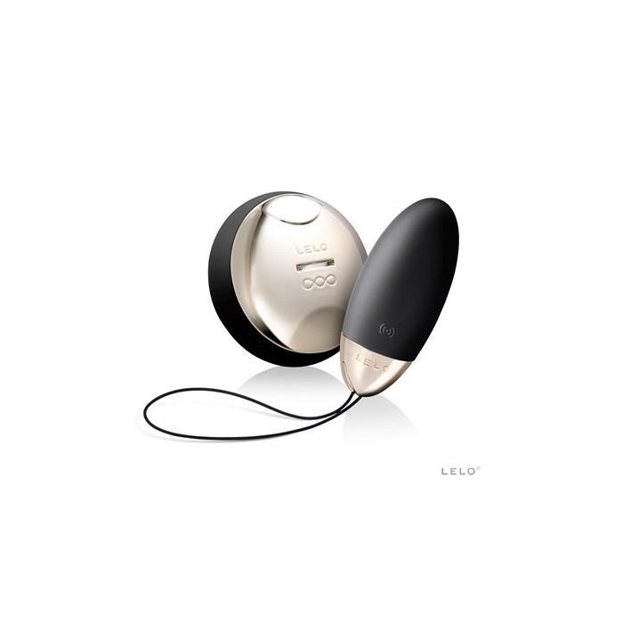 Lyla 2 - luxusní vibrátor na dálkové ovládání z kolekce Lelo - saténově černá