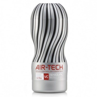 Pánský masturbátor Tenga Air-Tech Ultra Vacuum Controlled - obal šedý/ čirý