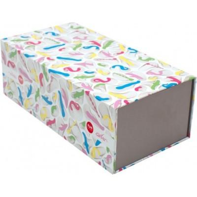 Designový TOYBOX podle Karima Rashida - kombinace barev