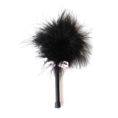 Dráždidlo péřové MALÉ black marabou
